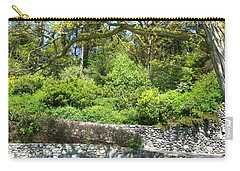 Stone Wall 1 Carry-all Pouch by David Trotter