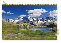 Carry-all Pouch featuring the photograph Strino Lake - Italy by Antonio Scarpi
