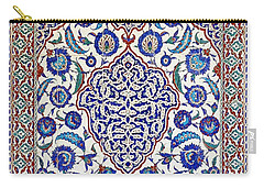 Sultan Selim II Tomb 16th Century Hand Painted Wall Tiles Carry-all Pouch
