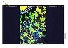 Carry-all Pouch featuring the painting Summer Bloom by Jonathon Hansen