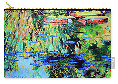 Summer Colors On The Pond Carry-all Pouch
