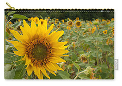 Sun Flower Fields Carry-all Pouch