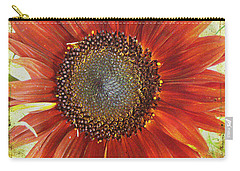 Sunflower Carry-all Pouch by Kathy Bassett