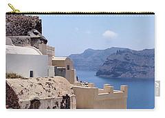 Sunny Santorini Carry-all Pouch