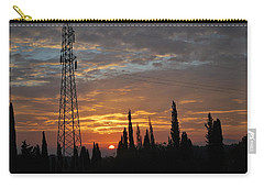 sunrise in Corfu 2 Carry-all Pouch by George Katechis