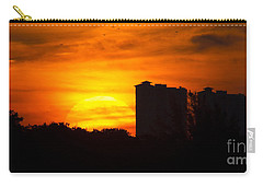 Sunrise  Carry-all Pouch by Meg Rousher