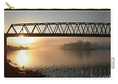 Sunrise Over The Ohio Carry-all Pouch