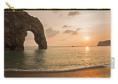 Sunset At Durdle Door Carry-all Pouch