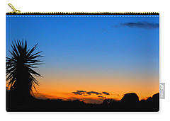 Sunset In The Desert Carry-all Pouch