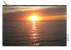 Sunset On The Bay Carry-all Pouch