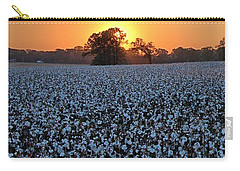 Sunset Over Cotton Carry-all Pouch