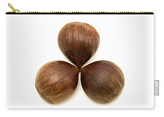 Sweet Chestnuts Fruits Carry-all Pouch by Fabrizio Troiani