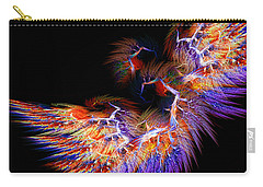 Symbol Of Fire Carry-all Pouch by Lourry Legarde