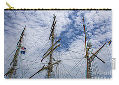 Tall Ship Three Mast  Carry-all Pouch by Dale Powell