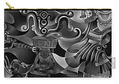 Aztec Sun Carry-all Pouches