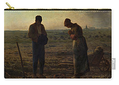 The Angelus Carry-all Pouch by Jean Francois Millet
