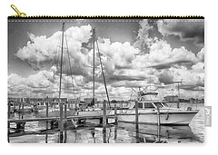 Carry-all Pouch featuring the photograph The Boat by Howard Salmon