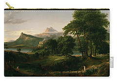 The Course Of Empire The Arcadian Or Pastoral State Carry-all Pouch