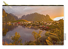 The Day Begins In Reine Carry-all Pouch