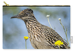 The Greater Roadrunner  Carry-all Pouch by Saija  Lehtonen