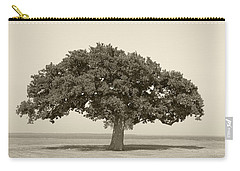 The Lonely Tree Carry-all Pouch by Charles Beeler