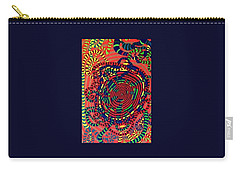 Carry-all Pouch featuring the painting Polar Shift. by Jonathon Hansen