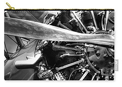 The Stearman Jacobs Aircraft Engine Carry-all Pouch by David Patterson