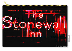 The Stonewall Inn Carry-all Pouch by Ed Weidman