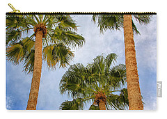 Three Palms Palm Springs Carry-all Pouch by William Dey
