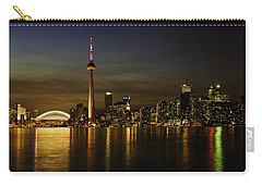 Toronto Evening Sky Line Panorama Carry-all Pouch