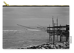 Trabocco On The Coast Of Italy  Carry-all Pouch