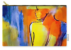 Carry-all Pouch featuring the painting Tranquility by Helena Wierzbicki