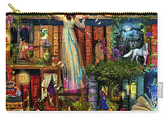 Treasure Hunt Book Shelf Carry-all Pouch by Aimee Stewart