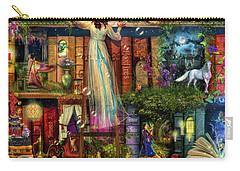 Shelves Digital Art Carry-All Pouches