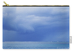 Carry-all Pouch featuring the photograph Tropical Storm by Roselynne Broussard