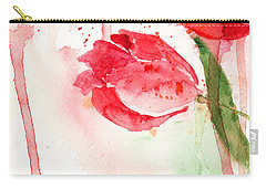 Tulip Flower Carry-all Pouch