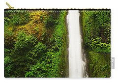 Tunnel Falls  Carry-all Pouch by Jeff Swan