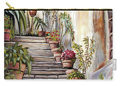 Tuscan Steps Carry-all Pouch