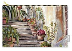 Tuscan Steps Carry-all Pouch by Melinda Saminski