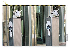 Cow Parade N Y C 2000 - Twin Cowers Carry-all Pouch