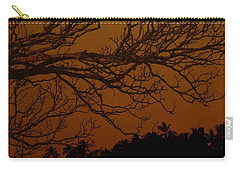 Under The Sunset Carry-all Pouch by Athala Carole Bruckner