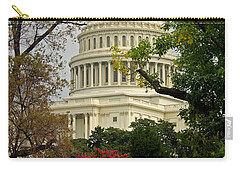 Carry-all Pouch featuring the photograph United States Capitol by Suzanne Stout