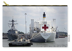 Us Naval Hospital Ship Comfort Carry-all Pouch