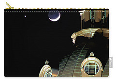 Venus And Crescent Moon-1 Carry-all Pouch