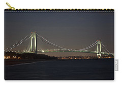 1 Verrazano Narrows Bridge At Twilight Carry-all Pouch