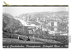 View Of Conshohocken Pennsylvania C 1900 Carry-all Pouch