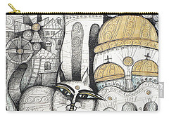 Villages Of My Childhood Carry-all Pouch
