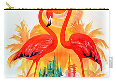 Vintage Florida Travel Poster Carry-all Pouch