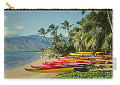 Kenolio Beach Sugar Beach Kihei Maui Hawaii  Carry-all Pouch