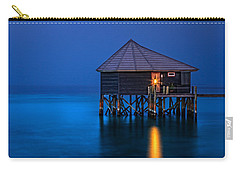 Water Villa In The Maldives Carry-all Pouch